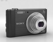 3D model of Sony Cyber-shot DSC-W800 Black