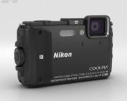 3D model of Nikon Coolpix AW130 Black