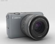 3D model of Canon EOS M10 Gray