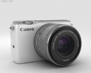 3D model of Canon EOS M10 White