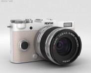 3D model of Pentax Q-S1 Pure White