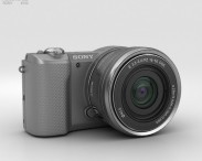 3D model of Sony Alpha A5000 Silver