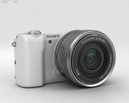 3D model of Sony Alpha A5000 White