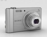 3D model of Sony Cyber-Shot DSC-W800 Silver