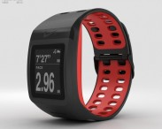 3D model of Nike+ SportWatch GPS Black/Red