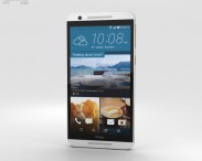 3D model of HTC One E9s Dual Sim White Luxury