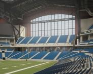 3D model of Lucas Oil Stadium
