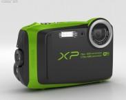 3D model of Fujifilm FinePix XP90 Lime