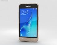 3D model of Samsung Galaxy J1 (2016) Gold