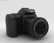 3D model of Canon EOS 70D