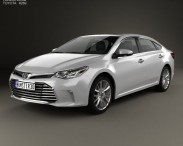 3D model of Toyota Avalon Limited 2015