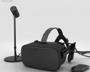 3D model of Oculus Rift