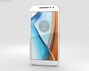 3D model of Motorola Moto G4 White