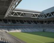 3D model of Stade Pierre-Mauroy