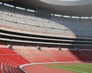 3D model of Aztec Stadium