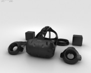 3D model of HTC Vive