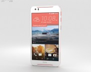 3D model of HTC Desire 830 White/Red