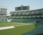 3D model of Oakland Alameda Coliseum