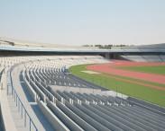 3D model of Estadio Olimpico Universitario