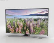 3D model of Samsung LED J550D Smart TV