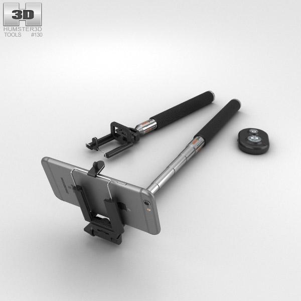 selfie stick 3d model humster3d. Black Bedroom Furniture Sets. Home Design Ideas