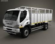 3D model of Ashok Leyland Boss Tipper Truck 2015