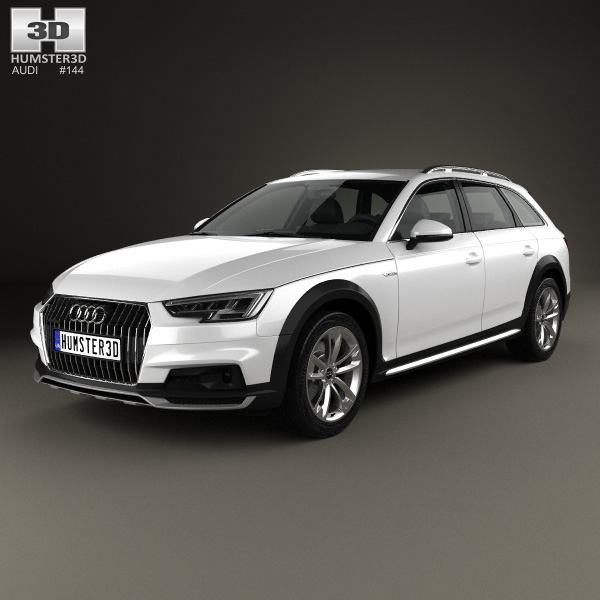 audi a4 b9 allroad 2017 3d model humster3d. Black Bedroom Furniture Sets. Home Design Ideas