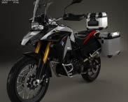 3D model of BMW F800GS Adventure 2014