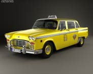 3D model of Checker Marathon (A12) Taxi 1978