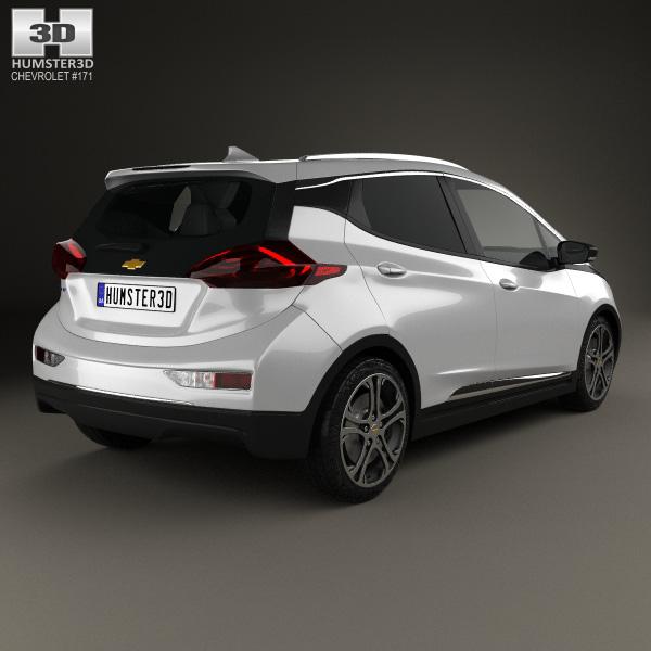 chevrolet bolt ev 2017 3d model humster3d 2017 2018 best cars reviews. Black Bedroom Furniture Sets. Home Design Ideas