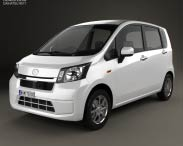 3D model of Daihatsu Move 2012