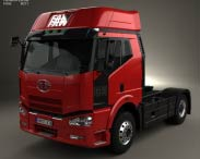 3D model of FAW J6 Tractor Truck 2007