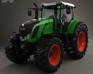 3D model of Fendt 826 Vario 2014