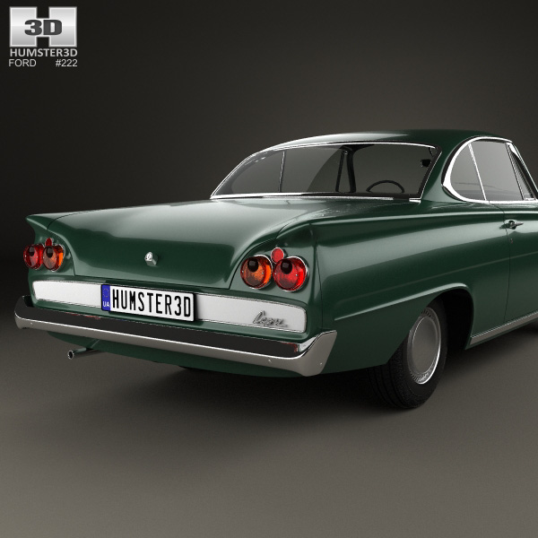 Ford consul capri 1961 3d model humster3d for Consul service catalog