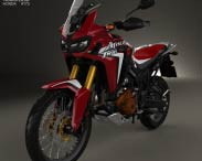 3D model of Honda CRF1000 Africa Twin 2016