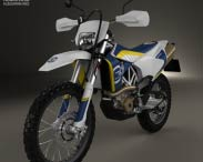 3D model of Husqvarna 701 Enduro 2016