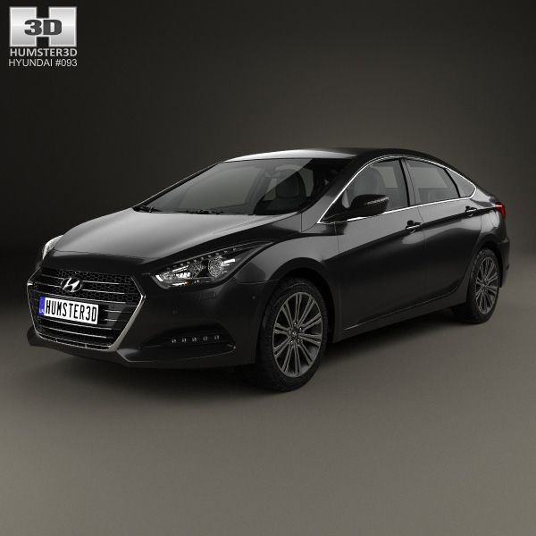 hyundai i40 sedan 2015 3d model humster3d. Black Bedroom Furniture Sets. Home Design Ideas