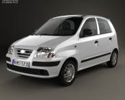3D model of Hyundai Santro Xing 2016