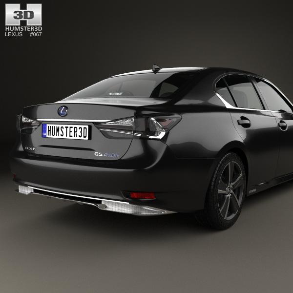 lexus gs hybrid 2015 3d model humster3d. Black Bedroom Furniture Sets. Home Design Ideas