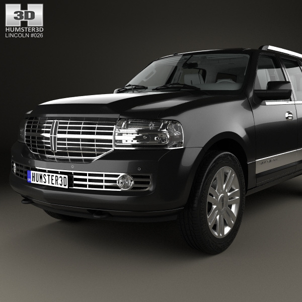 Lincoln Navigator With Hq Interior 2007 3d Model Humster3d