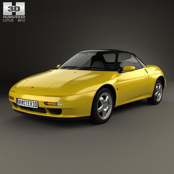 3D model of Lotus Elan S2 1994