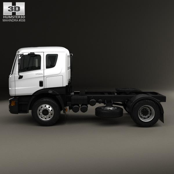 Mahindra Navistar Mn35 Tractor Truck 2010 3d Model Humster3d