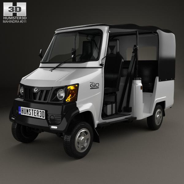 3D model of Mahindra Gio Compact Cab 2011