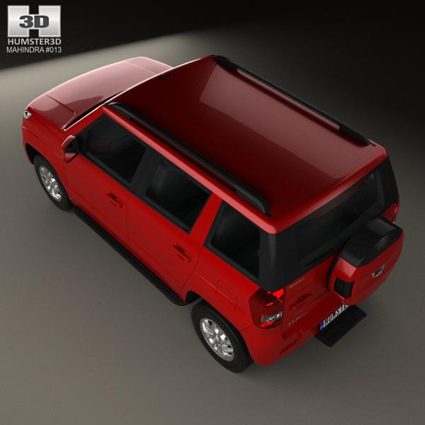 Mahindra Tuv300 2015 3d Model Humster3d