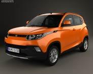 3D model of Mahindra KUV 100 2015