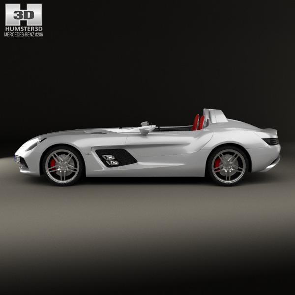 Mercedes benz slr mclaren stirling moss 2009 3d model for 2009 mercedes benz slr mclaren price