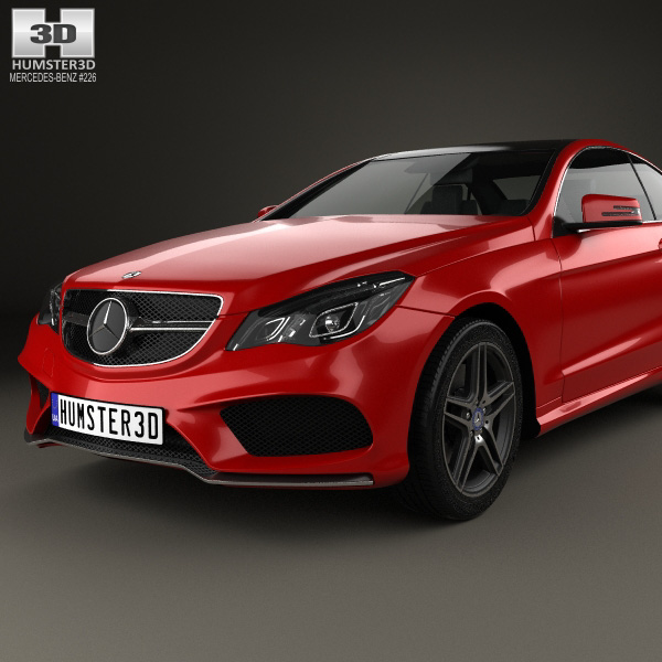 Mercedes benz e class coupe amg sports package 2014 3d for Mercedes benz sport models