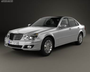3D model of Mercedes-Benz E-Class (W211) 2006