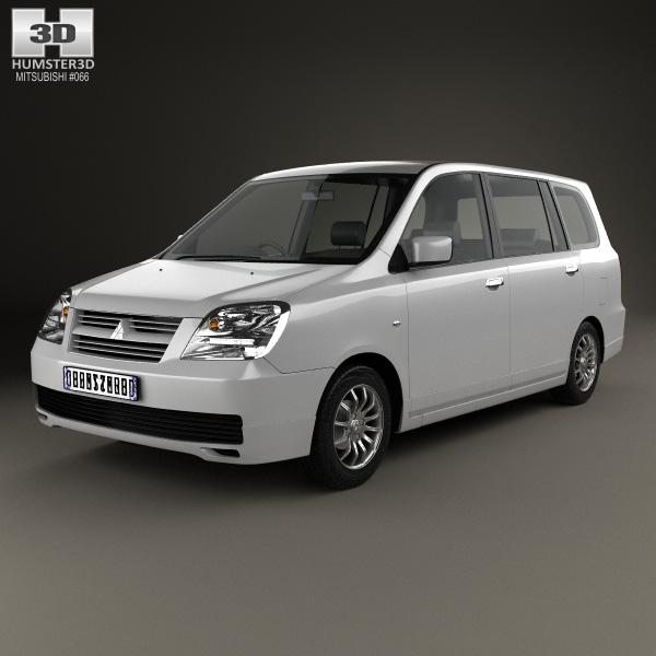 3D model of Mitsubishi Dion 2000