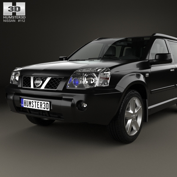 nissan x trail 2004 3d model humster3d. Black Bedroom Furniture Sets. Home Design Ideas